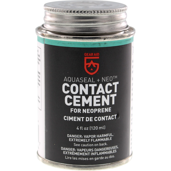 Gear Aid Wetsuit Cement Aquaseal+Neo 4oz Black