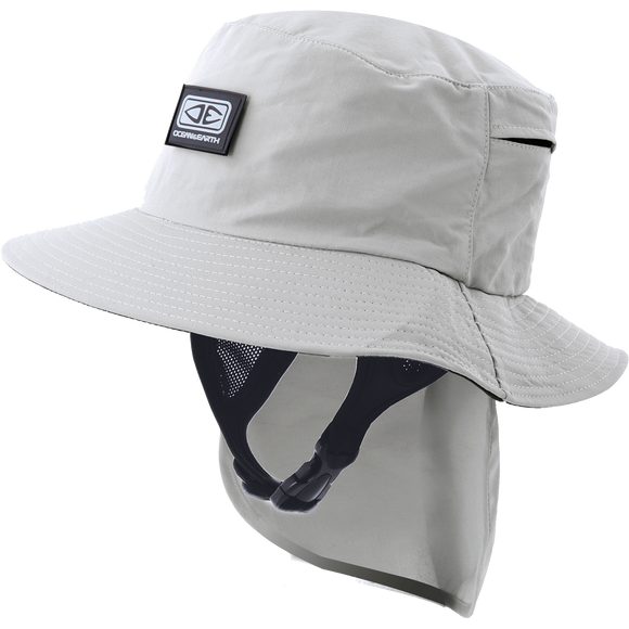 Ocean and Earth Mens Indo Stiff Peak Surf HAT - S-Grey
