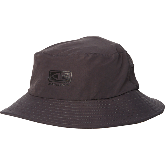 Ocean and Earth Mens Bingin Soft Peak Surf HAT - S-Black
