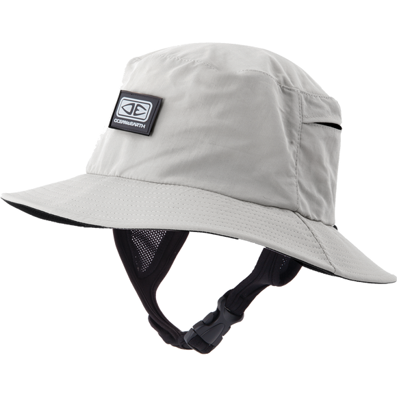Ocean and Earth Mens Bingin Soft Peak Surf HAT - L-Grey