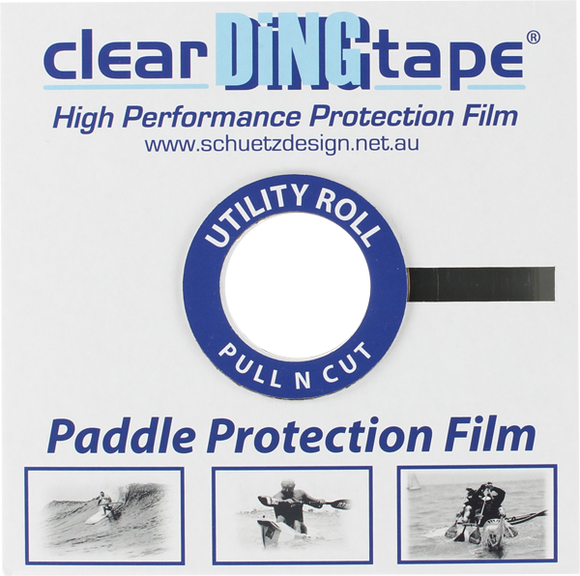 Clear Ding Tape Paddle Blade Film 20mm x 50m ROLL (Utility Roll - Pull'n'Cut) | Universo Extremo Boards Surf & Skate
