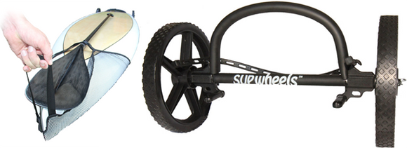 Sup Wheels Evolution Model Black W/Sup Strap Handle