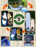 "Beatnik Surfboard Bag Boardsock/Hammock 8'10""-9'4"" Longboard Surfboard Model - Twill Assorted Colors"