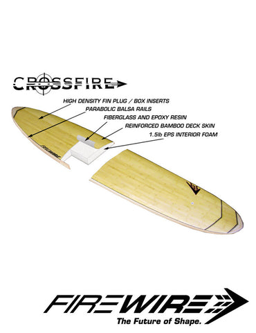 Firewire Taylor Jensen Everyday Longboard - Crossfire Technology (XF) - 9'4""