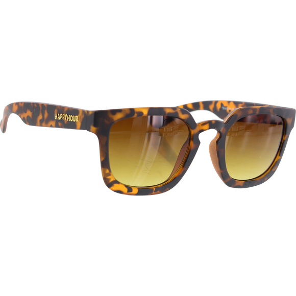 Happy Hour Sunglasses Wolf Pups Nate Frosted Tort Mate