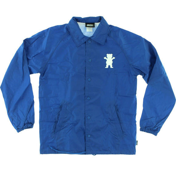 Grizzly 01 G Logo Coaches Jacket xl-Royal | Universo Extremo Boards Skate & Surf
