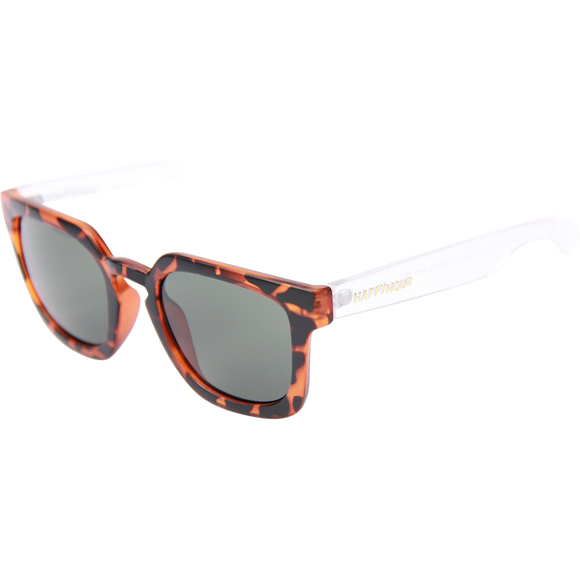 Happy Hour Sunglasses Wolf Pups Clear Frost Tort