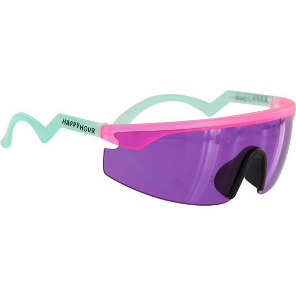 Happy Hour Sunglasses Accelerators Figgy Pink
