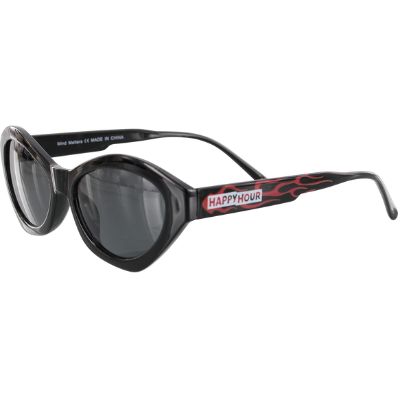Happy Hour Sunglasses Mind Melters Provost Black Flame
