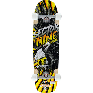 Sector 9 Budro II Yellow Complete Longboard - 9x38 Slide | Universo Extremo Boards Skate & Surf