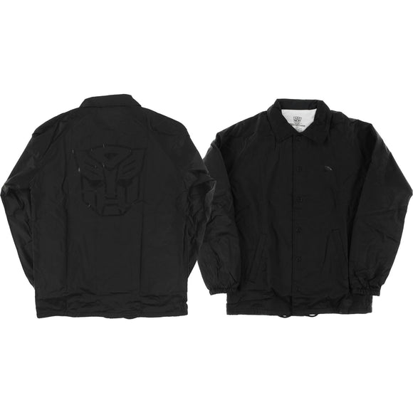Primitive Autobots Coaches Jacket M-Black | Universo Extremo Boards Skate & Surf