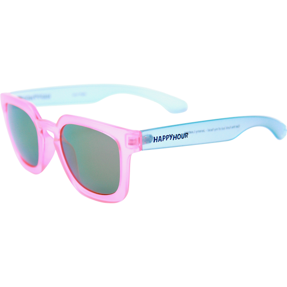 Happy Hour Sunglasses Wolf Pups Leabres Pink/Clear Blue