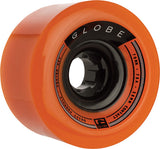 Globe Drifter 70mm 78a Orange Skateboard Wheels (Set of 4) - Universo Extremo Boards