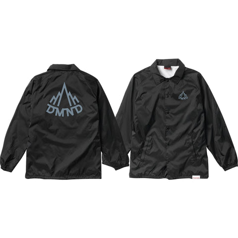 Diamond Mountaineer Coaches Jacket M-Black/Charcoal | Universo Extremo Boards Skate & Surf