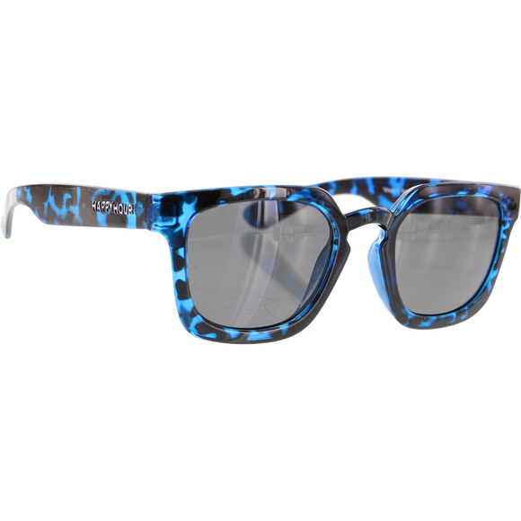 Happy Hour Sunglasses Wolf Pups Glick Blue Tortoise