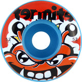 Termite Tommy Blue Skateboard Wheels - 52mm (Set of 4) - Universo Extremo Boards