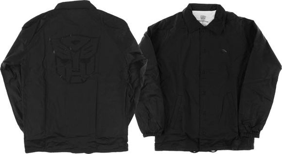 Primitive Autobots Coaches Jacket S-Black | Universo Extremo Boards Skate & Surf