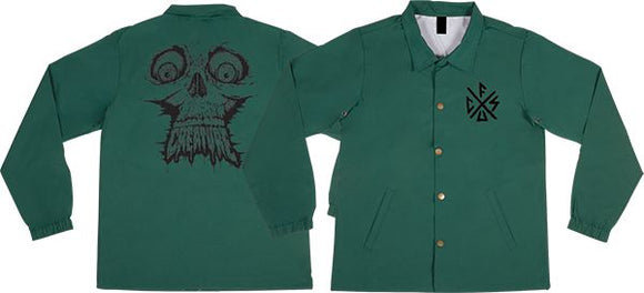 Creature Skinned Coach Jacket S-Forest Green | Universo Extremo Boards Skate & Surf