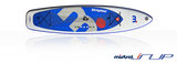 "Mistral INFLATABLE ALLROUND iSUP Stand Up Paddle Board 11'5"" X 31.5"" X 6"" 