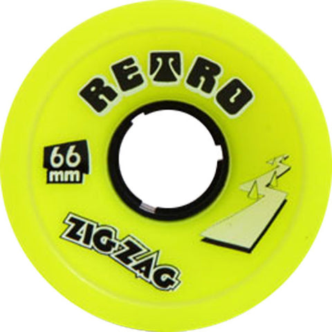 Abec 11 ZigZags 66mm 83a Lemon Longboard Wheels (Set Of 4) - Universo Extremo Boards