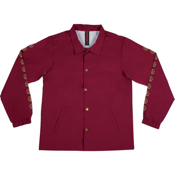 Independent Quatro Coach Windbreaker xl-Cardinal Red | Universo Extremo Boards Skate & Surf