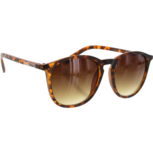 Happy Hour Sunglasses Dickson Flap Jacks Frosted Tortoise/Amber