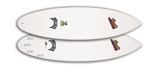 Firewire Lost Mini-Driver Surfboard - Future Shapes Technology (FST) - 5'8""