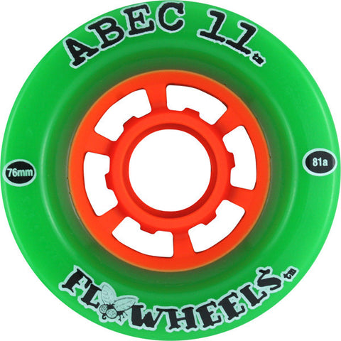 Abec 11 Flywheels 76mm 81a Longboard Wheels (Set Of 4) - Universo Extremo Boards