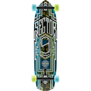 Sector 9 Carbon Flight II Blue Complete Longboard - 9x36/26wb | Universo Extremo Boards Skate & Surf