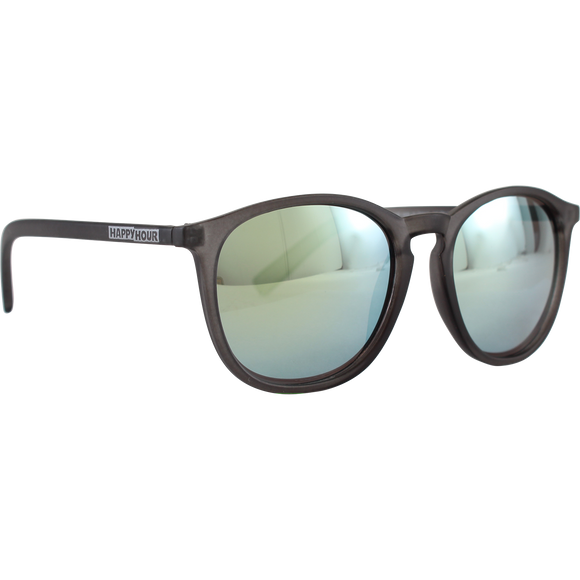 Happy Hour Sunglasses Provost Flap Jack Frost Black/Mirror