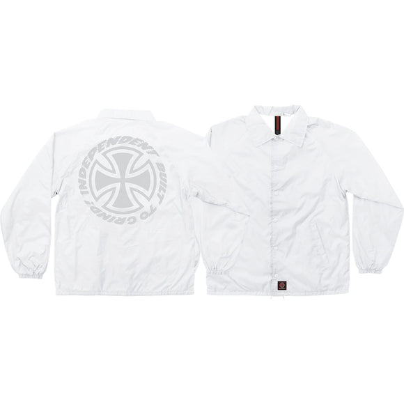 Independent Speed Kills Coach Windbreaker xl-White | Universo Extremo Boards Skate & Surf