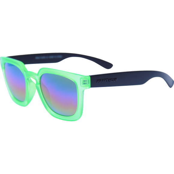 Happy Hour Sunglasses Wolf Pups Leabres Electric Green