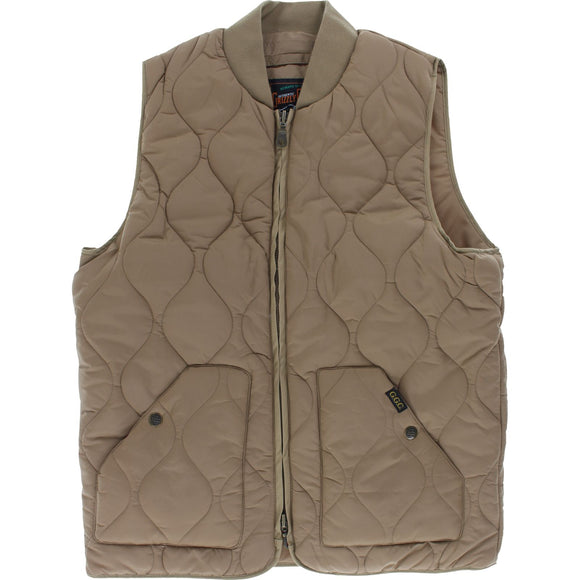 Grizzly Big Game Vest S-Khaki | Universo Extremo Boards Skate & Surf