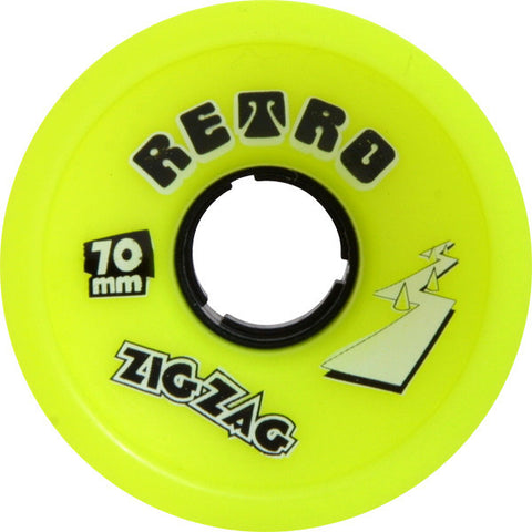 Abec 11 ZigZags 70mm 83a Lemon Longboard Wheels (Set Of 4) - Universo Extremo Boards