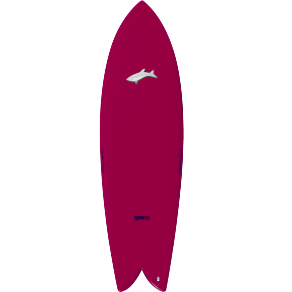 Jimmy Lewis Surfboard - Funboard - Rocket
