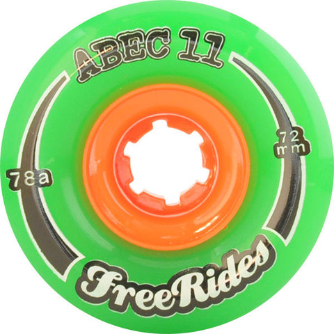 Abec 11 Freeride Longboard Wheels - 77mm 78a (Set of 4) - Universo Extremo Boards