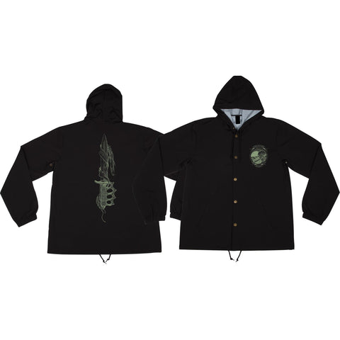 Creature Trench Knife Hooded Windbreaker M-Black | Universo Extremo Boards Skate & Surf