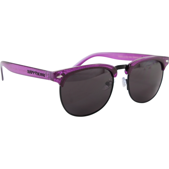 Happy Hour Sunglasses Herman G2 Violet Stardust