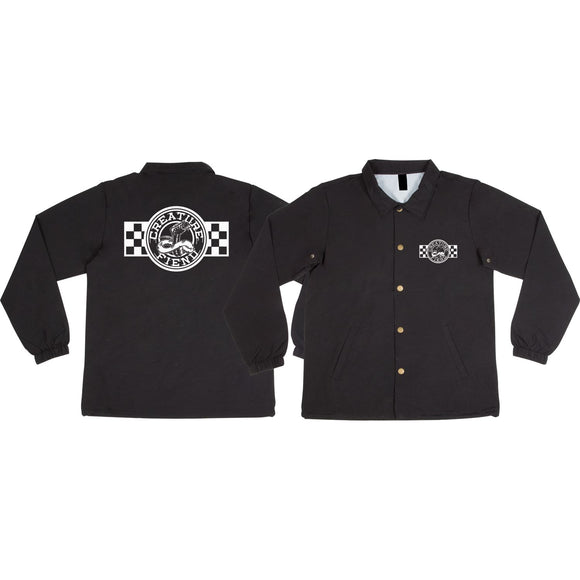 Creature Strike Fast Coach Jacket S-Black | Universo Extremo Boards Skate & Surf