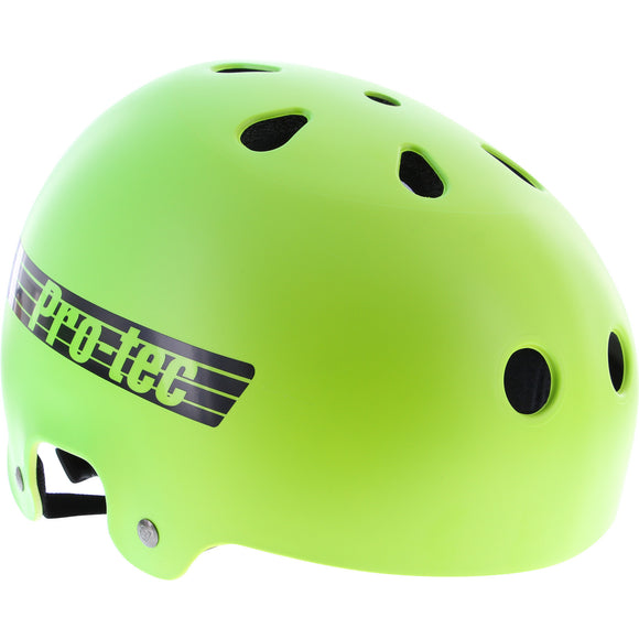 Protec Lasek Classic XL-Yellow/Green Fade Skateboard Helmet| Universo Extremo Boards
