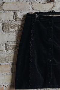 Scalloped Edge Skirt