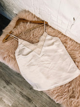Cream Silk Cami