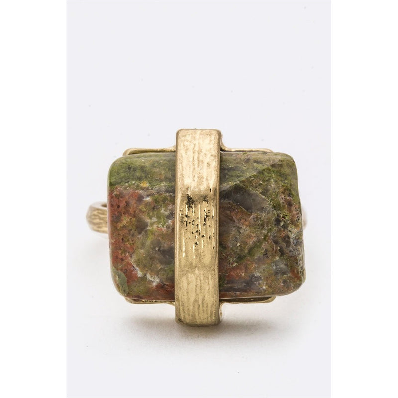 Natural Stone Ring - CHARLI REBEL