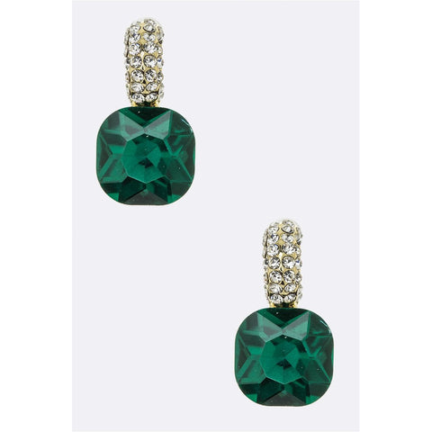 Stone Post Earrings - CHARLI REBEL