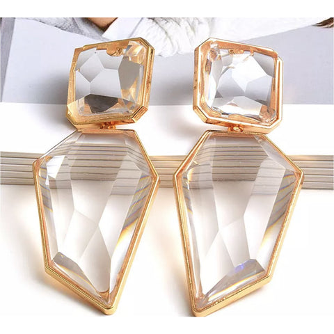 Vision (Transparent ) Earrings