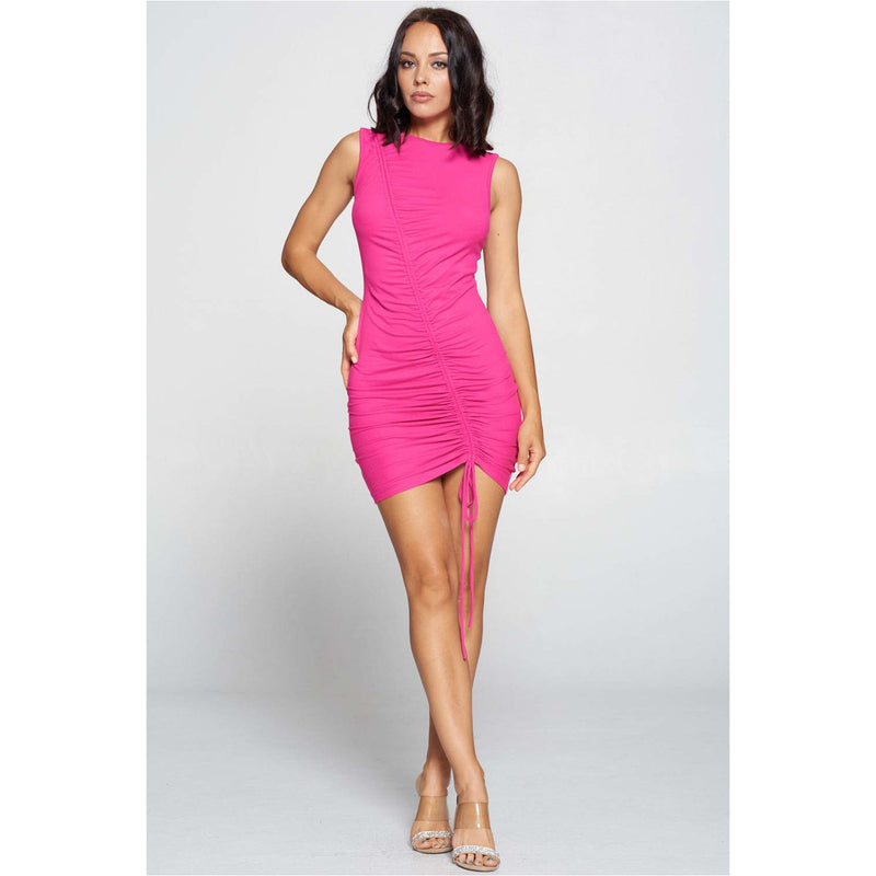 Stassi Dress (Fuchsia)