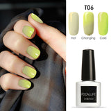 7ml Gel Nail Polish Thermal Color Change UV Gel Lacquer