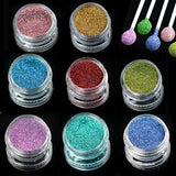 1 bottle Pigment, Nail Art Glitter Body Nail juice Laser Shinning