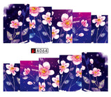 1Sheet Stickers Decals Fashion Rose Flower