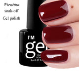 Gel Nail Polish Manicure Set UV Gel Lacquer